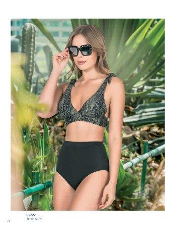 Yüksek Bel Bikini NBB 55222