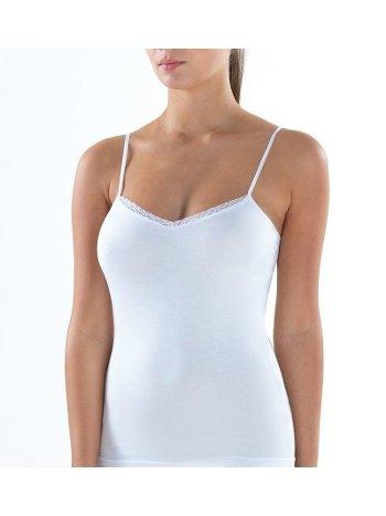BlackSpade Comfort Elegance Beyaz İnce Askılı Atlet 1365