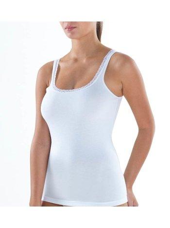 BlackSpade Comfort Elegance Kalın Askılı Beyaz Atlet 1364