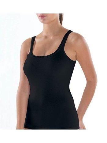 BlackSpade Comfort Elegance Kalın Askılı Siyah Atlet 1364