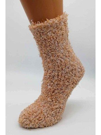 Bonas Bayan Peluş Uyku Çorabı