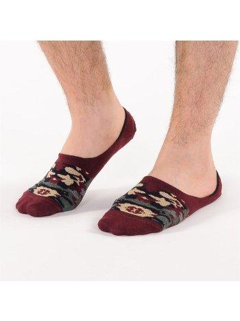 Bonas Erkek Topuğu Silikon Takviyeli Soldier Babet Çorap