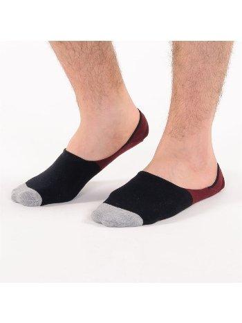 Bonas Erkek Topuk Silikon Takviyeli Lombard Babet Çorap