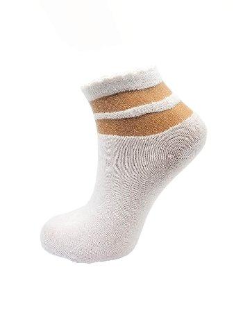 Bonas Halka Desenli Soket Çorap