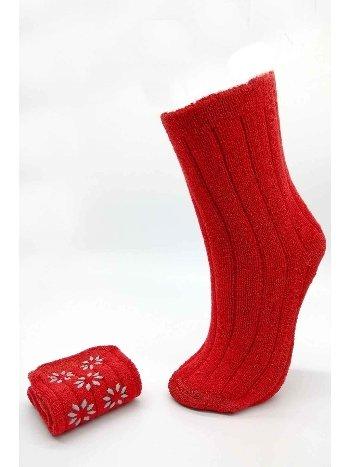 Bonas Kaymaz Taban Kışlık Bayan Havlu Soket Çorap