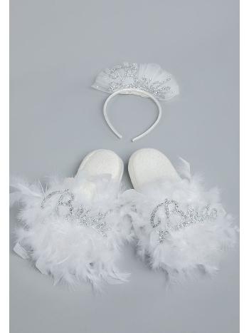 Bride Terlik Taç Set Asimod ASIBRDT02