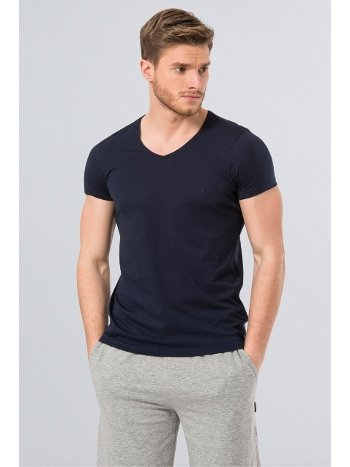 Cacharel Erkek T-Shirt (Slim Fit) 2170/LACİVERT