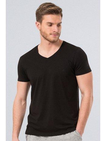 Cacharel Erkek T-Shirt (Slim Fit) 2170/SİYAH