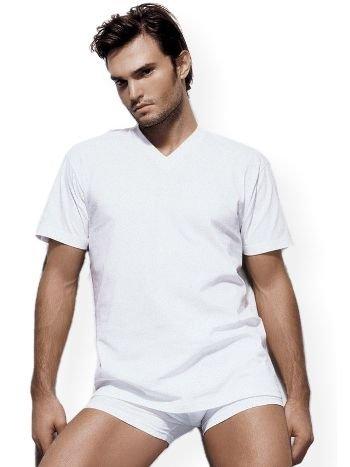 Çift Kaplan Süprem V Yaka T-Shirt 945