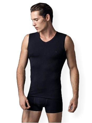 Compact V Yaka Kolsuz T-Shirt 2 li Eros ERS 006
