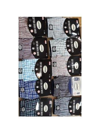 Cotton Erkek Boxer Şort Lüx DRM 314