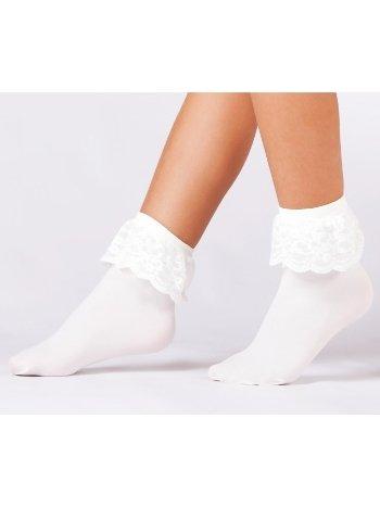 Daymod Mycro Dantelli Çocuk Soket Çorap D2521007