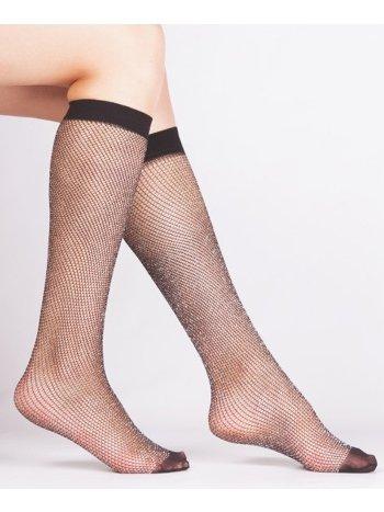 Daymod Rete File Simli Çocuk Dizaltı Çorap D2223004