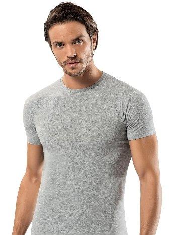 Pamuk Elastan Sıfır Vaka Erkek T-Shirt -3 lü Paket Erdem 1122