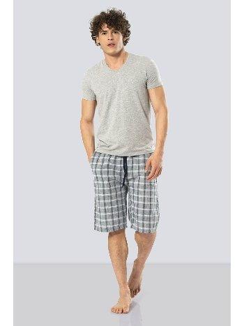 Erkek Bermuda Şort & T-shirt Takım Cacharel 2188/YEŞİL