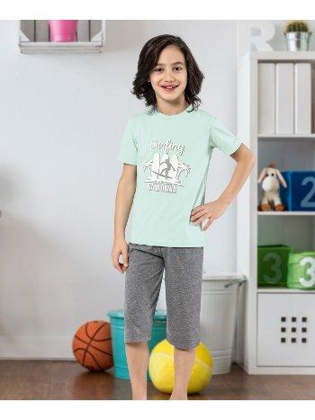 Erkek Çocuk Kapri Takımı Yuppi HMD 5437