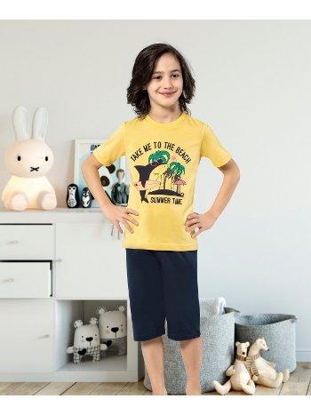 Erkek Çocuk Kapri Takımı Yuppi HMD 5438
