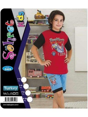 Erkek Çocuk Şortlu Takım Lady 2405