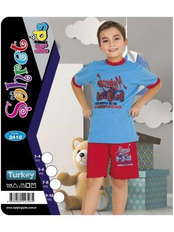 Erkek Çocuk Şortlu Takım Lady 2410