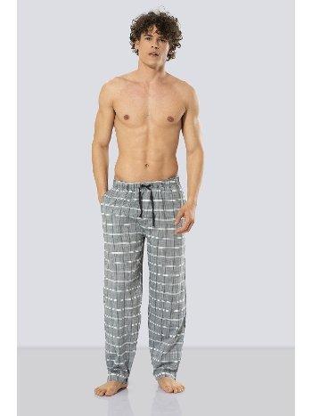 Erkek Kareli Tek Alt Pijama Cacharel 2178/YEŞİL