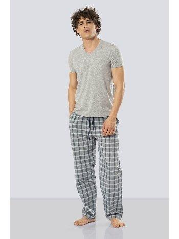 Kısa Kollu Poplin Pijama Takım Cacharel 2184/YEŞİL