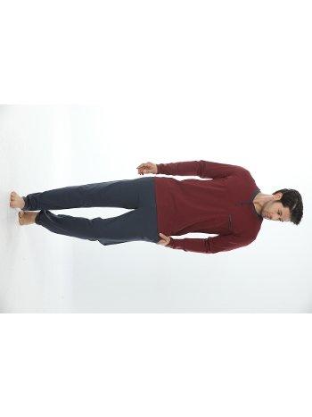 Erkek Patlı Uzun Kollu Pijama Takım 12001-A Öztaş
