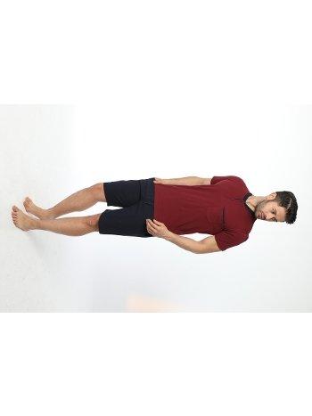 Erkek Patlı Yarım kol Şortlu Pijama Takım 12036-A Öztaş