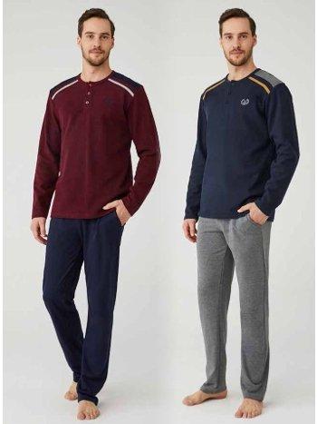 Erkek Pijama Takım Mod Collection 3323