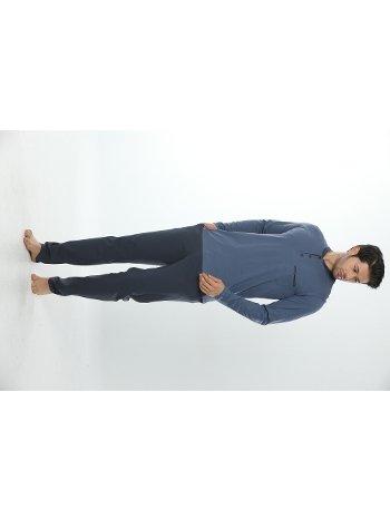 Erkek Uzun Kollu Pijama Takım 12002-A Öztaş