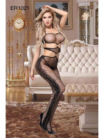 Erotik Kadın Vücut Çorabı Asilce 1021