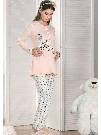 Hello Baby Hamile Pijama Takım FLZ 24-334