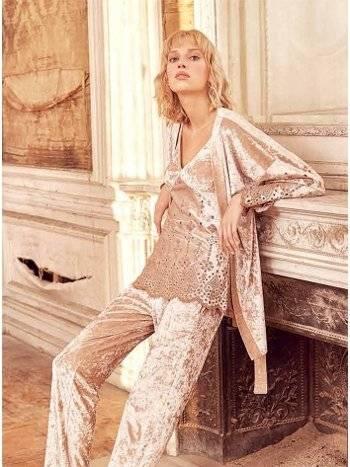 Hırkalı 3'lü Bayan Pijama Takım Miss Loren 2004