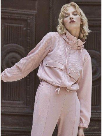 İki Taraflı Giyilebilen Fermuarlı Cepli Bayan Pijama Takımı Miss Loren 2003