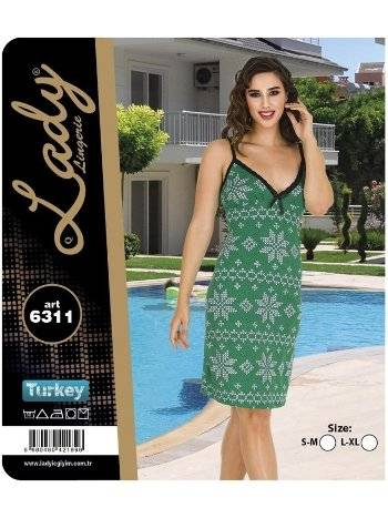 ip Askılı Tunik Lady 6311
