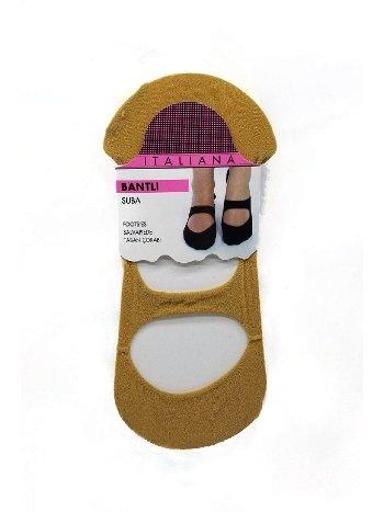 İtaliana Bantlı Suba Babet Çorap