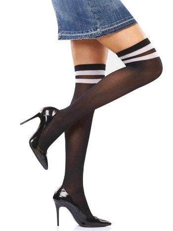 İtaliana Mikro Çemberli Dizüstü Çorap