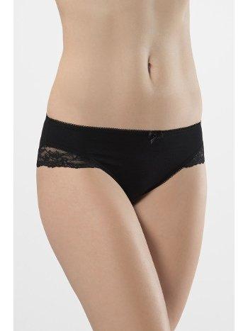Likralı Dantelli Bikini (2'li Paket) Türen 959/SİYAH