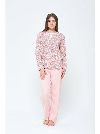 Kışlık Penye Büyük Beden Pijama Takımı Estiva 20307