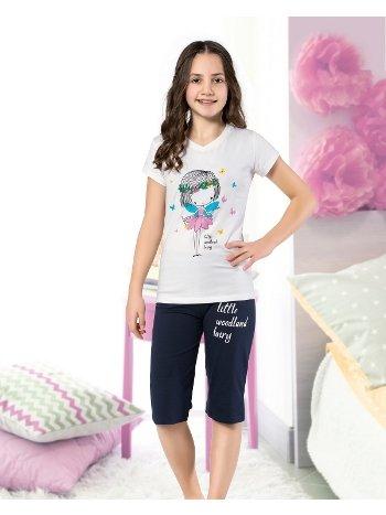 Kız Çocuk Kapri Takım Yuppi HMD 6105