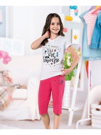 Kız Çocuk Kapri Takım Yuppi HMD 6106