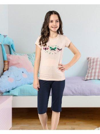 Kız Çocuk Kapri Takım Yuppi HMD 6110