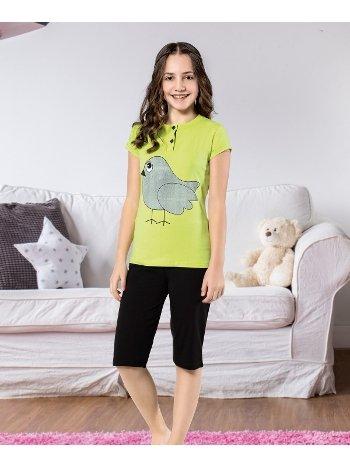 Kız Çocuk Kapri Takım Yuppi HMD 6112