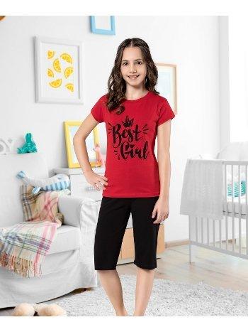 Kız Çocuk Kapri Takım Yuppi HMD 6116