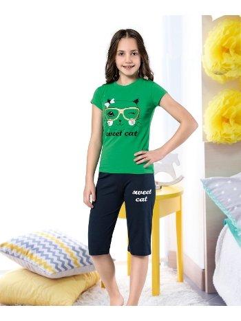 Kız Çocuk Kapri Takım Yuppi HMD 6117