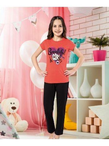 Kız Çocuk Kapri Takım Yuppi HMD 6119
