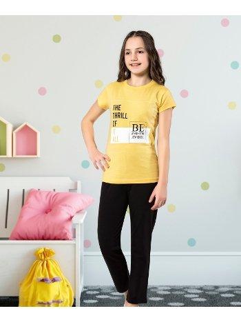 Kız Çocuk Kapri Takım Yuppi HMD 6125