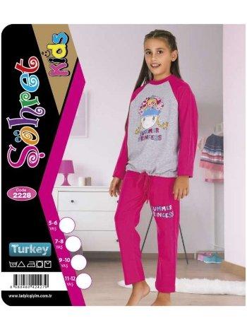 Kız Çocuk Takım Lady 2228
