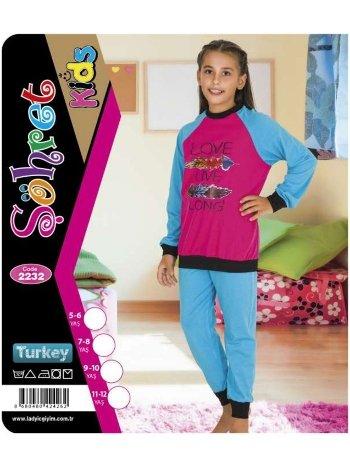 Kız Çocuk Takım Lady 2232