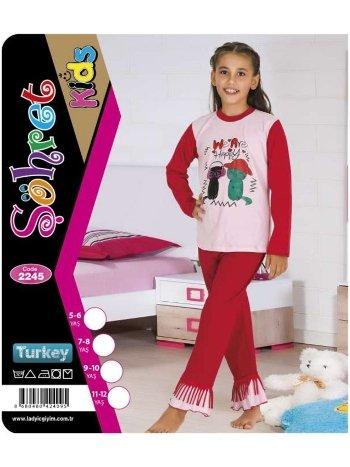 Kız Çocuk Takım Lady 2245