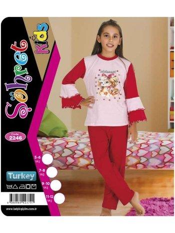 Kız Çocuk Takım Lady 2246